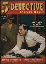 5-Detective Mysteries1942 October/November, #1. Pulp.
