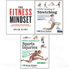 Fitness Mindset:Anatomy of Stretching,Sports Injuries 3 books collection set NEW