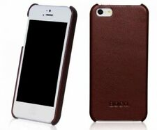 HOCO DUKE BACK Leather Case Cover for APPLE iphone 5/5s/SE BROWN H2931
