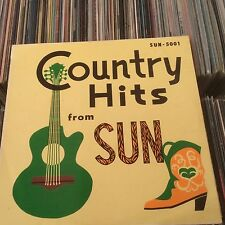 SUN COUNTRY HITS JOHNNY CASH.CARL PERKINS.JERRY LEE LEWIS ROCKABILLY JAPAN LP