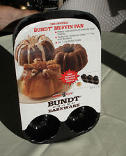 THE ORIGINAL NORDIC WARE HEAVY CAST ALUMINUM BUNDT MUFFIN PAN NEVER USED