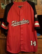 NHL Detroit Red Wings  #14 Shanahan Baseball-style Jersey. Size Large. All Sewn!