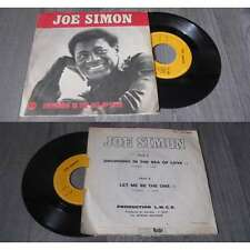 JOE SIMON - Drowning In The Sea Of Love French PS 7' Funk Soul