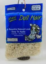 Doll Hair Maxi Blonde Natural Curly #M8502