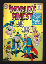 WORLD'S FINEST #113  FINE VERY FINE 7.0!   ANOTHER BEAUTIFUL COPY!  1960