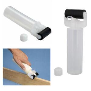 "2 Glue Roller Bottle Applicator 8 Oz 2-1/2"" Wide Roller Reusable Paste Dispenser"