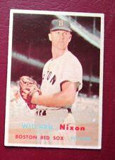 1957 Topps Willard Nixon (Boston Red Sox) #189 VG/EX