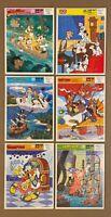FRAME TRAY PUZZLE LOT -  Vintage Golden Walt Disney Puzzles