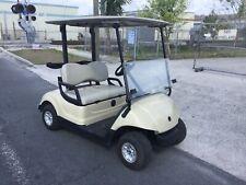 Tan 2015 Yamaha G29 YDR drive Dre 2 seat passenger 48 volt 48v Golf Cart