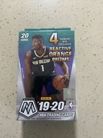 2019-20 Panini Mosaic NBA Basketball Trading Cards Hanger Box - 20 Cards Sealed