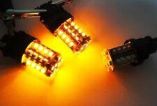 2 PCS AMBER 40 SMD LED 7441 7443 7440 T20 For HONDA Rear Turn Signal Light Bulbs