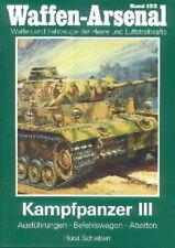 Waffen-Arsenal 122 Kampfpanzer III, Ausführungen/Abarten/Befehlswagen Panzer 3