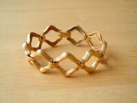 """Altes vergoldetes """"Double"""" mit Meisterpunze Armband 22,3 g / L:17,5 cm"""