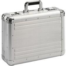 ATTACHE-CASE  VALISE MALLETTE  en aluminium argent    XL       > NOUVEAU<