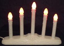 5 Candle Candelabra With C-7 Yellow Bulbs