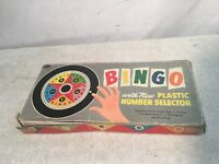 Vintage Bingo Board Game by Whitman Publishing Co USA Made