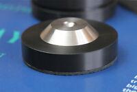 4PCS 39x11mm Stainless Graphite Speaker AMP Isolation Spike Feet Mat Floor Base