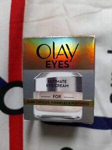 Olay Eyes Ultimate Eye Cream For Dark Circles, Wrinkles And Puffiness, 15ml.