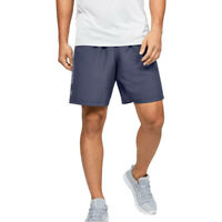 Under Armour Mens Woven Graphic Shorts Pants Trousers Bottoms - Blue Sports