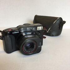 Canon Sure Shot TELE 35mm film macchina fotografica con 40-70mm & case-MACCHINA FOTOGRAFICA VINTAGE CLASSIC