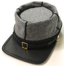 CIVIL WAR CSA CONFEDERATE INFANTRY WOOL KEPI FORAGE CAP HAT-XLARGE