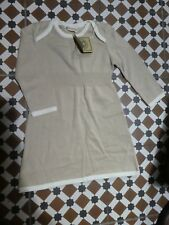 The Earth Collection 100% Raw Natural Cotton Girls Dress, 12 months, BNWT, NEW.