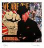 TABLEAU ART CONTEMPORAIN We are. one TEHOS serie limitee 250 ex street art