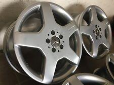 4 orig. AMG Felgen 8,5 + 9,0 x 18 Mercedes W215 W220 R129 W204 W207 W209 W140