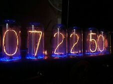 6 x IN-18 NIXIE TUBES matched for clock DIY || NEW & TESTED || FROM FACTORY BOX
