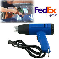 Heat Gun Hot Air Gun Dual Temperature+4 Nozzles Power Tool 1500W 110/220V Heater