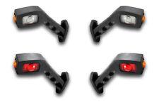4 Stück x LED Seite Blinker Ausverkauf Stiel Elbow Lichter Richtung Blinker L&R
