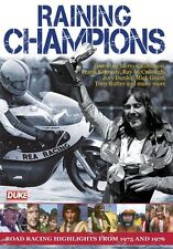Raining Champions (New DVD) Motorcycle Road Racing 1975 & 76 NW200 UlsterGP Etc