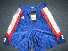 NEW WOMEN'S ADIDAS NCAA KANSAS JAYHAWKS BASKETBALL GAME SHORTS JERSEY SIZE S