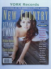 NEW COUNTRY MAGAZINE - April 1996 - Shania Twain / Willie Nelson / Chris LeDoux