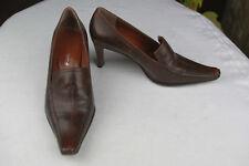 Zapatos Romanini Piel Marrón T 36 Muy Buen Estado