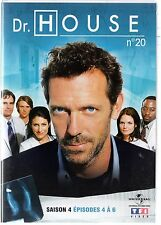 Dr HOUSE - Intégrale kiosque TF1 Video - Saison 4 - dvd 20 - Episodes 4 à 6