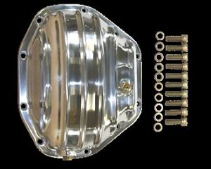 polished aluminum Differential Cover Dana 80 dodge 3500 GM chevy ford truck