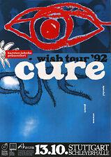 Original Konzertplakat  The Cure 13.10.1993   Stuttgart Schleyerhalle