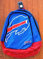 Buffalo Bills BackPack / Back Pack Book School Gym Bag NEW TEAM COLORS BIG LOGO