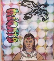 "Might ISIS with Comic Background Original Pop Graffiti Art 1 of a Kind 16"" x 20"""