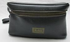 Vintage Kodak Black Camera Flash Lens Accessory Zippered Storage Carry Bag