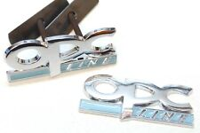Vauxhall Opel OPC Line Chrome Badge Corsa D Astra Rear Tailgate Barbecue Set Custom
