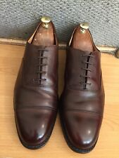 Church Consul  Brown Leather Oxford Shoe Uk 9, RRP£495