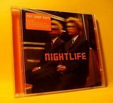 CD Pet Shop Boys Nightlife 12TR 1999 House, Synth-pop, Disco