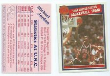 1984 Micheal Jordan Rookie Missing Link Productions Olympic Card RP VERY RARE