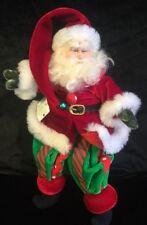 "Katherine's Collection Wayne Kleski Rare Retired 10"" Santa Claus Doll"