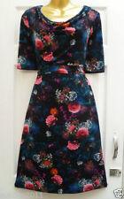 Monsoon Polyester Short Sleeve Regular Dresses for Women