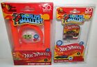 WORLD'S SMALLEST HOT WHEELS STUNT ACTION SET & PURPLE PASSION 1990 NEW SEALED For Sale