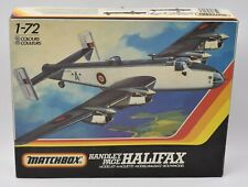 Handley Page Halifax 100% Complete Unbuilt Plastic Model Kit Matchbox 1983 1:72