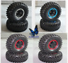 1:10 Car Rubber Bigfoot  Monster Tires&Wheel For RC Traxxas HSP Tamiya HPI 4PCS